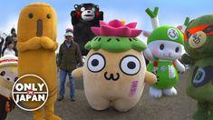 Japanese Mascots Unleashed: Guide to Japan's Yuru-chara 日本のユルキャラ★ WAO✦RY...