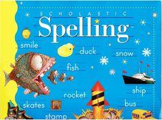 Scholastic Spelling 2nd grade workbook isbn 0590344633 LA2