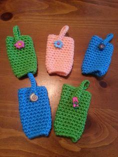Summer Hand Sanitizer Holders by LilliansHandmade on Etsy