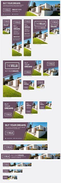 Super Ideas for design banner inspiration real estates Real Estate Advertising, Real Estate Ads, Advertising Design, Real Estate Marketing, Advertising Campaign, Email Marketing, Web Design, Web Banner Design, Layout Design