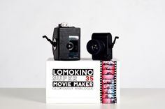 Lomokino 35mm Movie Camera - Create & view lo-fi movie masterpieces using 35mm film! ($99.00, http://photojojo.com/store)  @Photojojo ♥s Photography