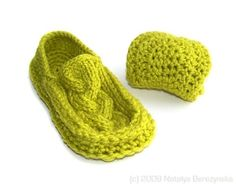 Crochet Slippers Pattern Knitted Slippers Pattern by natalya1905, $5.00