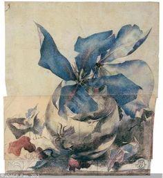 JANSSEN Horst - Blaue Clematis
