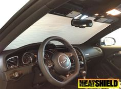 Made to order, Custom made Heatshield for your Audi A5.