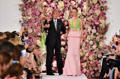 latest celebs fashion trends: Oscar de la Renta Postage Stamps are Coming in 201...