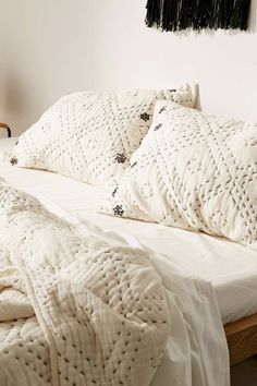 Magical Thinking Diamond Sham Set - Urban Outfitters and Dream Bedroom, Master Bedroom, Guest Bedrooms, Bungalow, Magical Thinking, Textiles, Bedroom Inspo, Bedroom Decor, My New Room