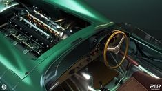 Aston Martin DBR1 on Behance Le Mans, Aston Martin Dbr1, Race Cars, Behance, Racing, Drag Race Cars, Running, Auto Racing, Rally Car