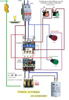 Contactor wiring guide for 3 phase motor with circuit breaker 141208055740931973g 9351364 electrical wiringelectrical engineeringelectrical diagramelectrical ccuart Choice Image