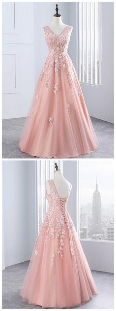 Evening Dresses ,Party Tulle Appliques A Line