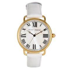 Betsey Johnson - white vintage watch!