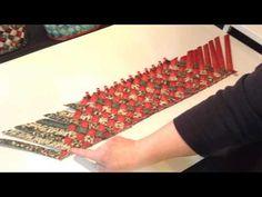 Diagonnally Woven Basket - YouTube