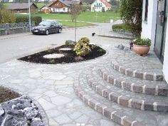 Picture result for natural stone house entrance . - Picture result for natural stone house entrance . Front Door Steps, Office Pictures, Exterior Stairs, Concrete Steps, Architecture Images, Garden Steps, Brick And Stone, House Entrance, Stone Houses