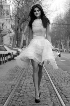 Parisian chic , a little longer this might be cute :D