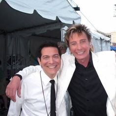 Two amazing musician, with Michael Feinstein.