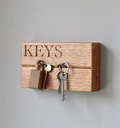The Oak and Rope Company. Small Key Organiser