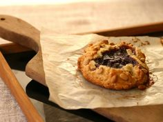 These little Free-Form Fruit and Nut Pies are supposed to look rustic, so don't stress about making them picture-perfect. It's a simple dough, a little jam and you've got a delicious, easy single-serving pie.