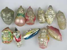 antique christmas ornaments images | Antique Christmas Ornament sold on Ebay for $71