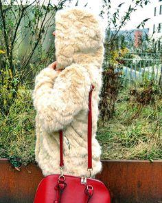 Faux fur coat for winter  #Regram via @ruxandrasoare