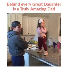 Behind every great daughter is a truly amazing dad! (📷 unknown - please inform) Comment ❤️ if you like this video. Father Love Quotes, Daddy Daughter Quotes, Father And Daughter Love, Love My Parents Quotes, Mom And Dad Quotes, Fathers Love, Son Quotes, Sister Quotes, Baby Quotes