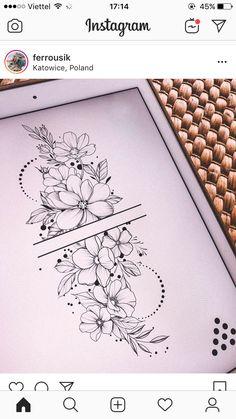 inspiration - flower tattoos designs - Tattoo inspiration -Tattoo inspiration - flower tattoos designs - Tattoo inspiration - 99 Stylish Flower Tattoos That You Deserve Delicate Flower Tattoo, Vintage Flower Tattoo, Forearm Flower Tattoo, Small Forearm Tattoos, Small Flower Tattoos, Flower Tattoo Shoulder, Flower Tattoo Designs, Back Tattoo, Small Tattoos
