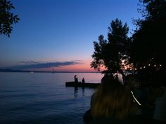 Abendstimmung am Bodensee