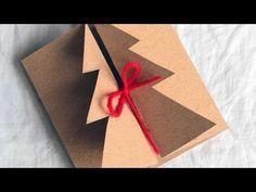 5 EASY DIY CHRISTMAS CARDS 2015! Easy Tutorial Card Ideas! DIY! - YouTube
