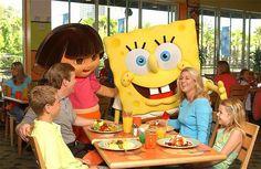 Nickelodeon Family Suites: Character Breakfasts & Restaurants