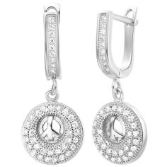 Crystal Earrings Dangle Earrings Affordable by UloveFashionJewelry, $11.27