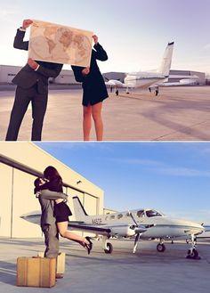 airport photoshoot- on my wishlist for honeymoon departure Aviation Wedding, Aviation Theme, Wedding Pics, Wedding Shoot, Pilot Wedding, Wedding Ideas, Engagement Pictures, Engagement Shoots, Wedding Engagement