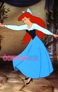 Disney -- The Little Mermaid - Ariel Cosplay Costume Version 02