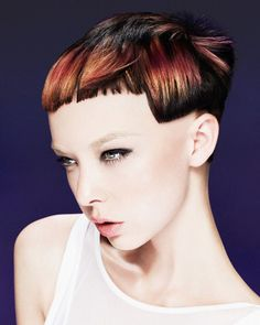 Gorgeous Colour from Francesco Group's Creative Colour Director, Claire Chell from her new collection, Embrace Xtreme!  British Colour Technician of the Year Finalist 2014