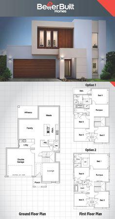 The Jameson: Double Storey House design.