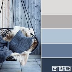 "Shabby Chic Ireland's - Rustic Shabby Chic Seaside Style ""My sea, my sea, her rh. Room Colors, Wall Colors, House Colors, Paint Colors, Decoration Inspiration, Color Inspiration, Seaside Style, Rustic Shabby Chic, Faux Fur Throw"