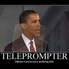 Teleprompter junkie