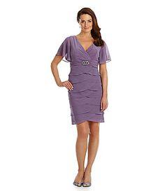 jessica howard flutter sleeve dress lilac - Google Search