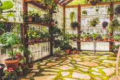 """Acquire fantastic recommendations on """"greenhouse"""". They are on call for you on our site. Greenhouse Effect, Backyard Greenhouse, Greenhouse Plans, Window Greenhouse, Small Greenhouse, Outdoor Projects, Garden Projects, Small Gardens, Outdoor Gardens"""