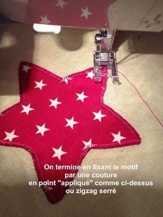 Les Astuces de Fée Paillette: Tuto DIY Couture facile : coudre un appliqué avec Vliesofix de Vlieseline