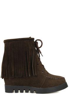 Criss Cross Design Short Boots For Women
