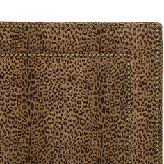 Gwen Notched Bed - California King - Grey Linen - Skyline Furniture