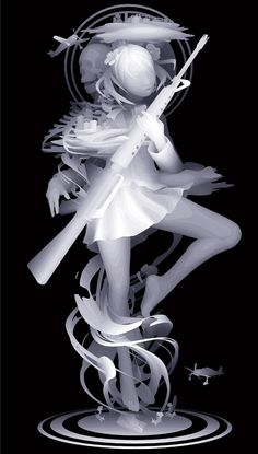 "Artist: Kazuki Takamatsu, ""Figure of others last week"" 2010.1620 × 920mm giclee Prints and ground chalk, gouache, acrylic medium, tarpaulins, acrylic paints (solvent pigment for outdoors)"