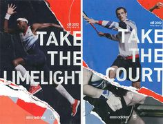 Adidas   take the _____ by Antonin Brault Guilleaume, via Behance