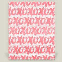 Shop for unique nursery art like the xoxo Art Print by noondaydesign on BoomBoomPrints today!  Customize colors, style and design to make the artwork in your baby's room their own!