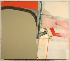 Nick Lamia Artist untitled - 36 x 42 inches - oil on canvas - 2012-shades of diebenkorn here