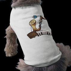 Musical Instruments Design Doggie Tshirt