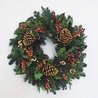 Cedar and Berry Elegance Wreath