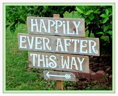 Rustic Wedding Signs LARGE FONT Recycled Wood by TRUECONNECTION, $95.00