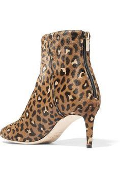 6bcae4b3a63c Jimmy Choo - Duke 65 leopard-print calf hair ankle boots