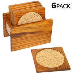 Must Haves for the Home 6 Piece Coaster Set on mysale.com