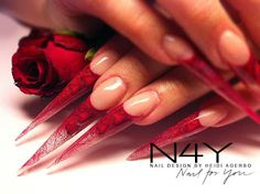 Nail Manicure Blog: Negle tipper - Nail art with flowers