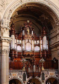 Berliner Dom Organ Sauer-Orgel